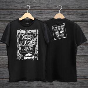 Keep Music Live T-Shirt